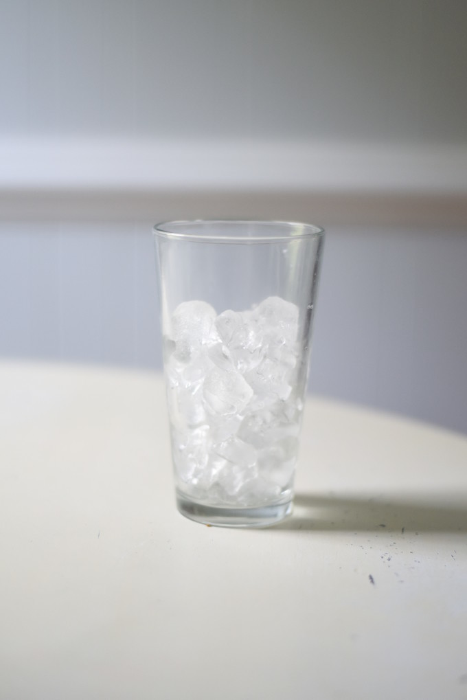 How much ice do you typically like in a cold drink?
