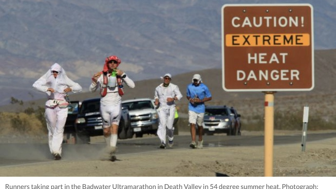 Are extreme sports/endurance events/survival training, actually just a form of Masochism?