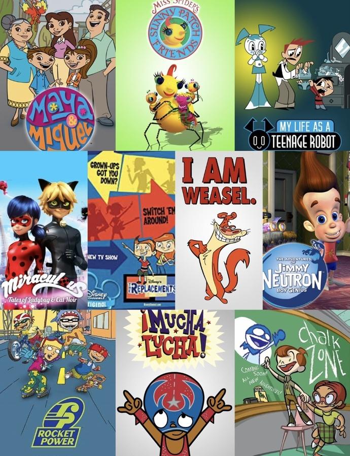 10 Question #CartoonNostalgia Survey?