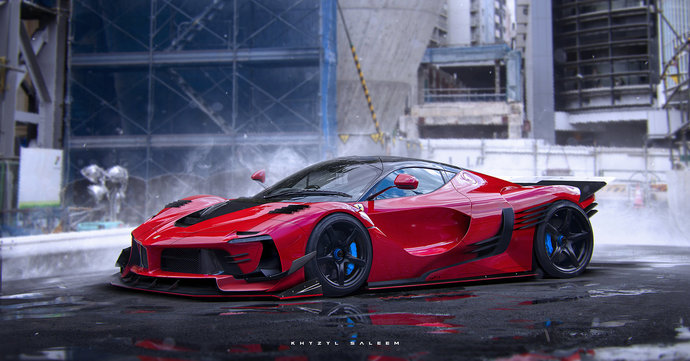Which of these Car renderings is your favorite?
