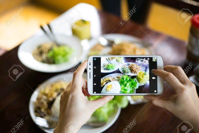 Are you one of the people who always take a picture of whatever they do or see or eat with a smartphone? If so, why?