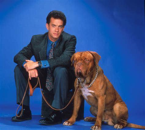 Scott Turner and Hooch the dog