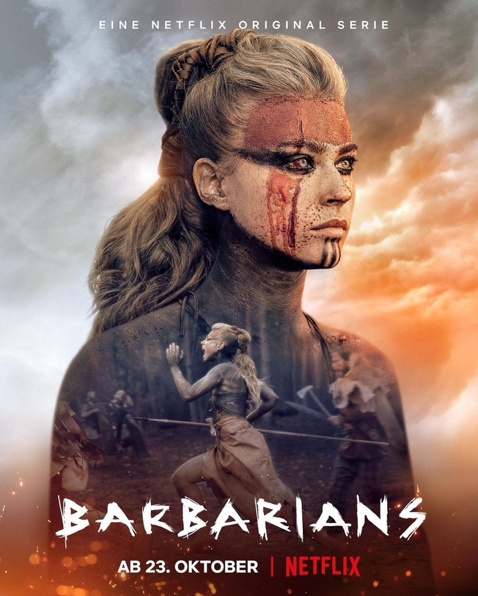 What do you of the series Barbarians on Netflix?