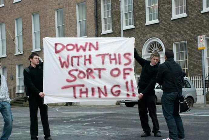 Protesting, whats the point?