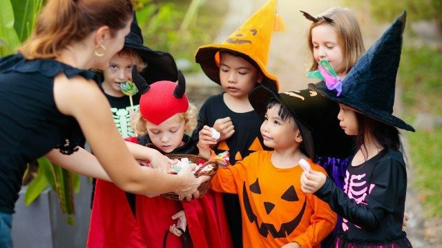 Did you ever go trick-or-treating in the rich neighborhoods when you were a kid?
