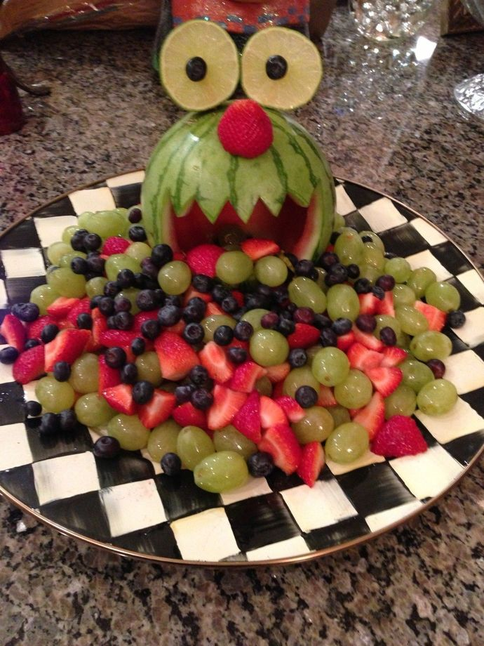 Did you ever get fruit as a kid when trick or treating? what do you think of that?