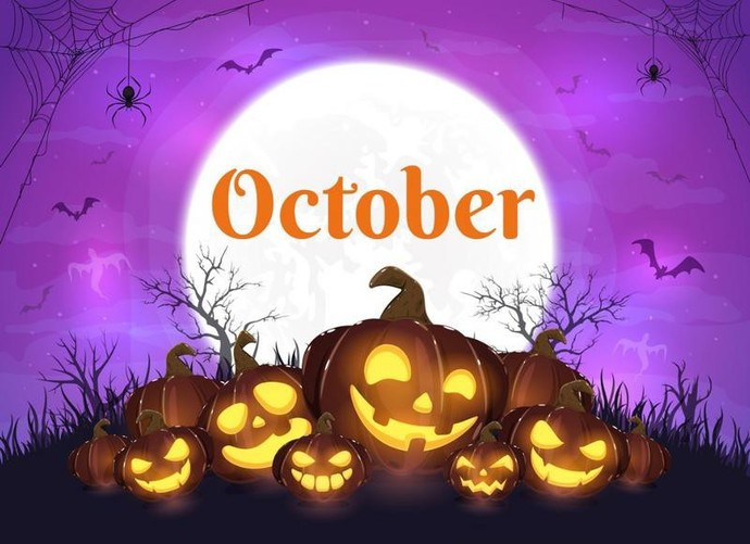 Any grand plans for this whole month of October?