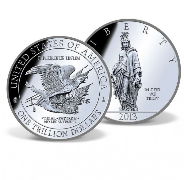 The Federal $1 Trillion dollar Platinum Coin , could it work and what they would need to make it work?