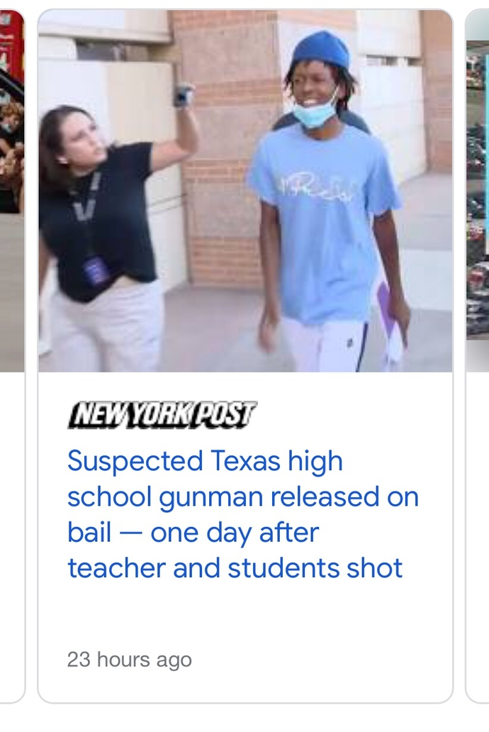 Another school shooter but this one didn't and will not go viral. why not? 👀?