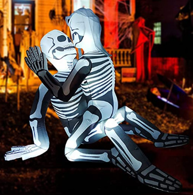 Halloween decor gone too far?