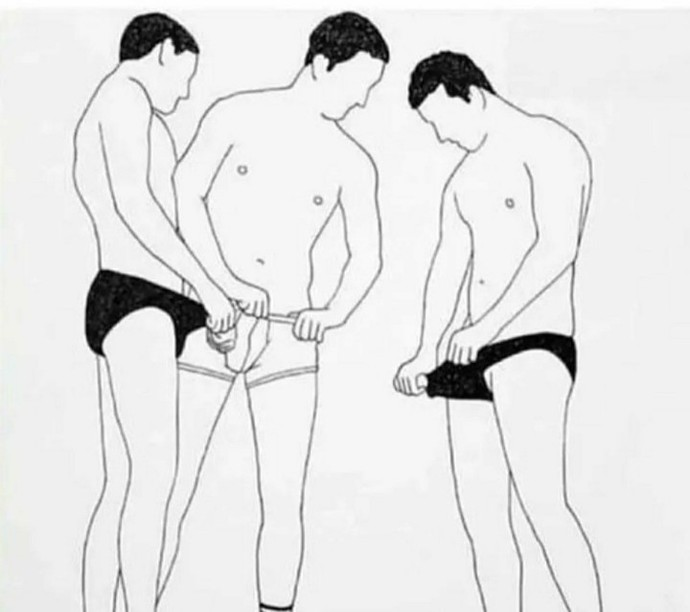 Do guys actually do this behind close doors?