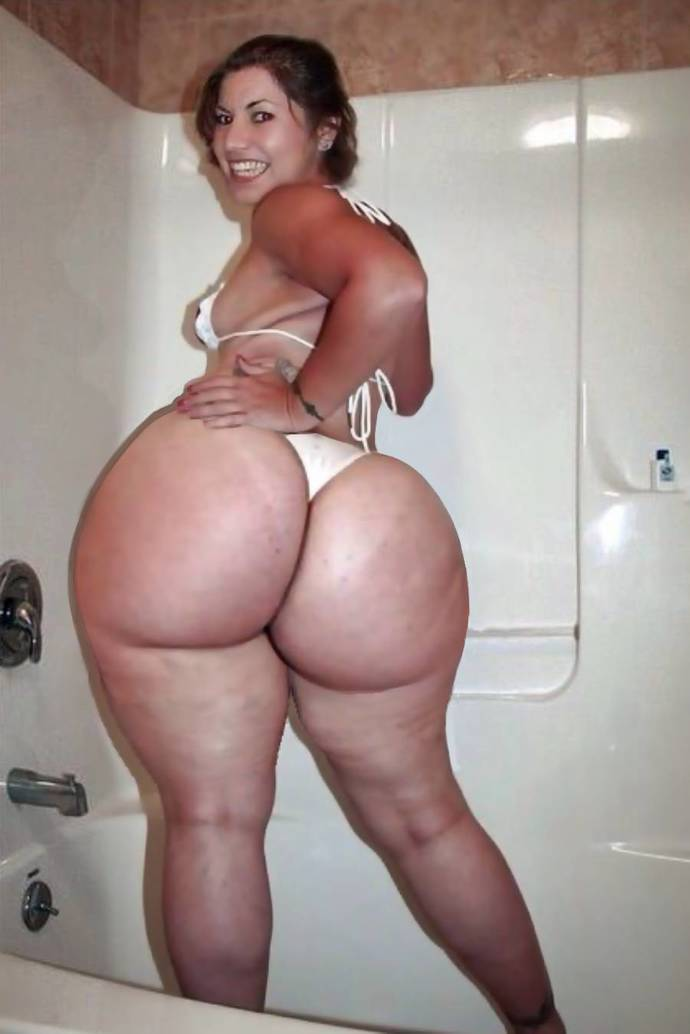 How much booty to too much as far as size goes?