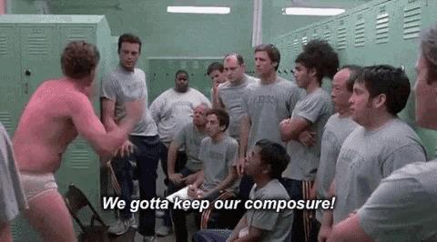 Men in the locker room probably be like…