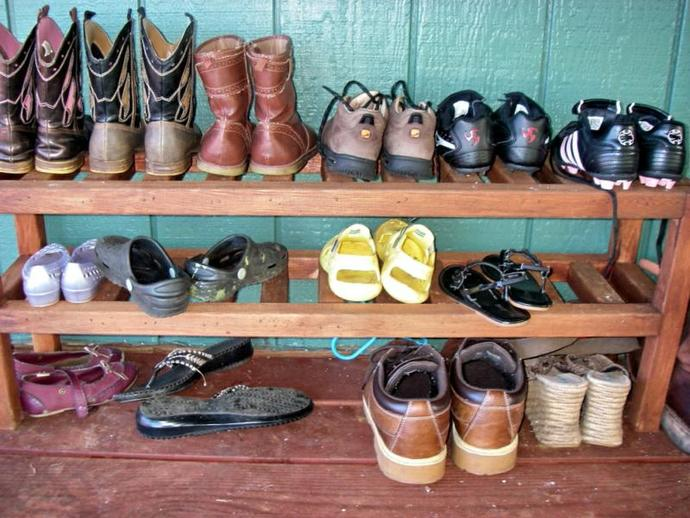 Do you remove your shoes when entering someone else's residence?