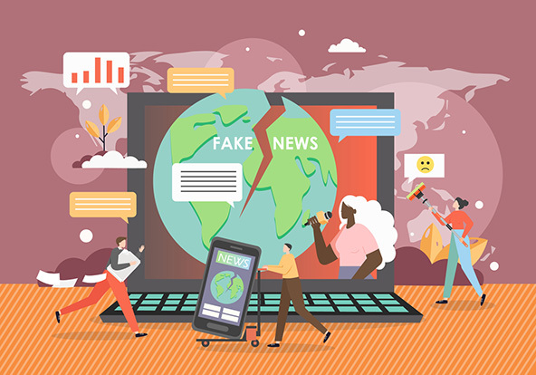 Should spreading misinformation on purpose on news TV, magazines, Twitter, Facebook, YouTube etc be illegal or should it be a right to deceive people?