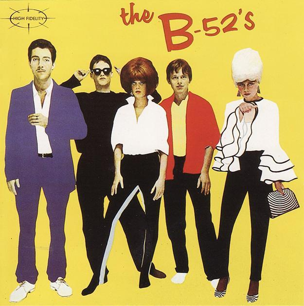 Thoughts on this group: The B-52s?