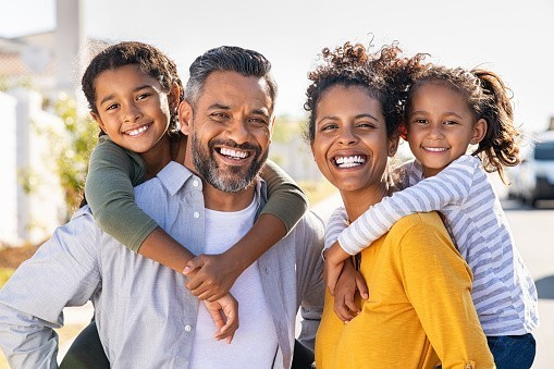 Who is the more dominant figure in your family?