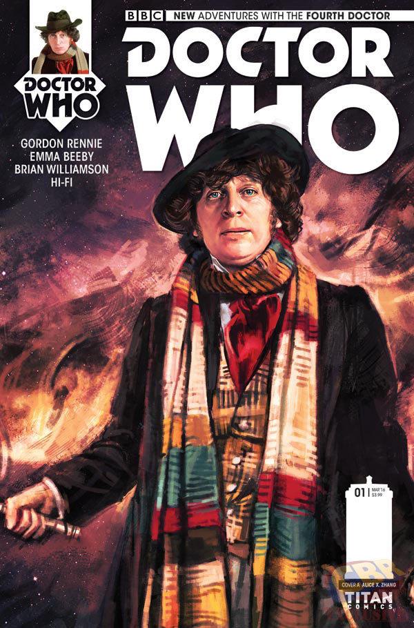Tom Baker The 4th Doctor