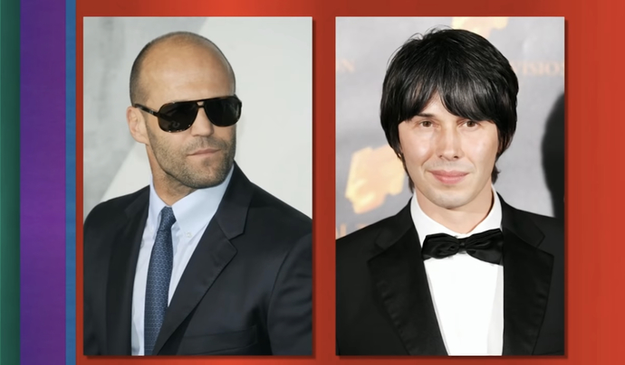 Statham picked his fists, Brian Cox picked String Theory.