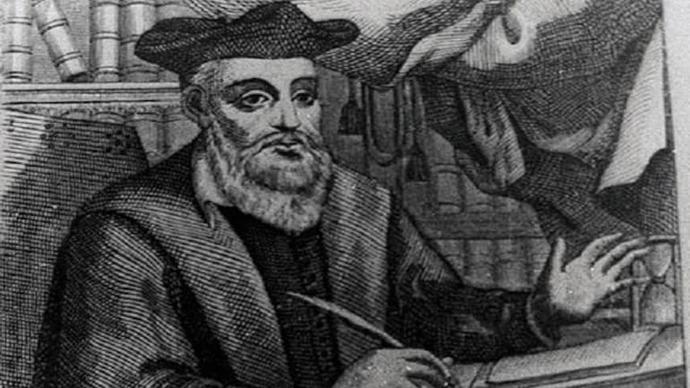 Nostradamus hath spoken…