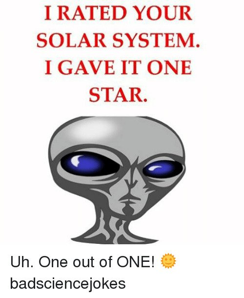 Do you agree we are the best planet fighting covid out of the ENTIRE solar system?