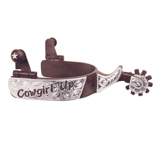 Girls and Guys, have you ever thought about cowgirling up and introducing spurs into your love life?