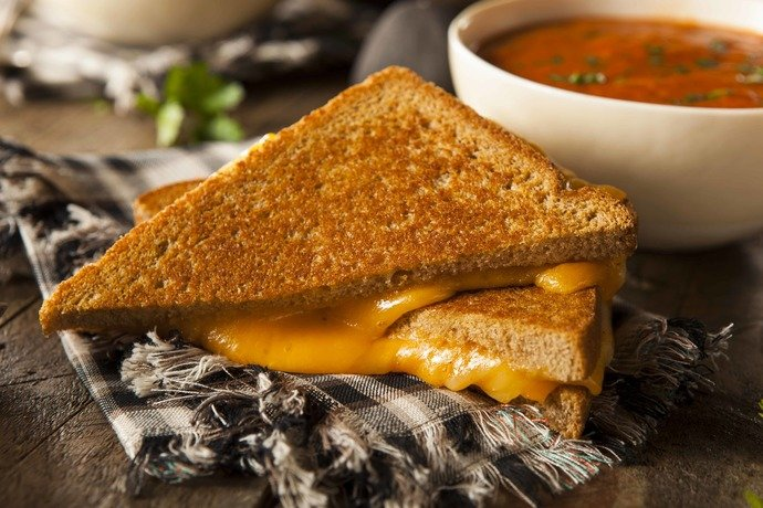 What type of cheese do you like most in a grilled cheese sandwich?