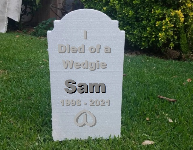 Is there a worse way to die than death by wedgie?
