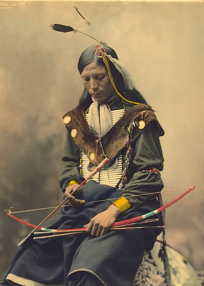 Which of these 7 colorized photo portraits from the 19th Century is your favorite?