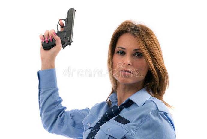 A Lady-cop