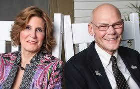 James Carville-D and Mary Matalin-R, husband and wife