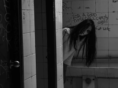 Would you hook up with a toilet ghost?
