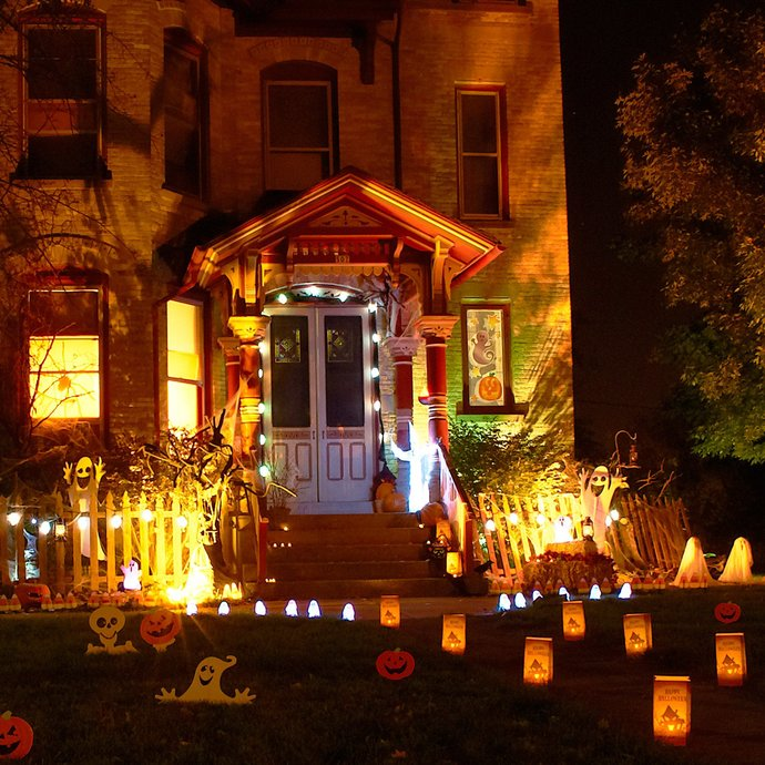 How many of you actually decorate your place for Halloween?