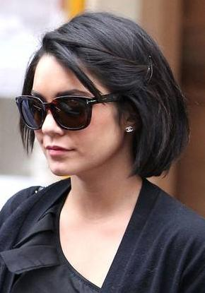 short bob haircut woman